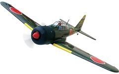 Aviomodelis Zero Fighter, ar iekšdedzes dzinēju, ARF