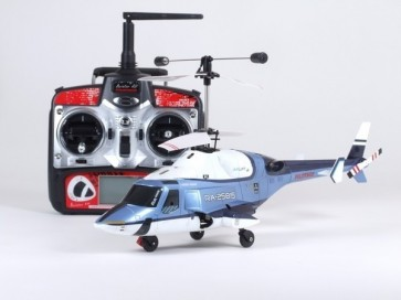 Helihopteris Airlift, Zils, EP, RTF, 2.4gHz