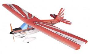Lidmodelis Super Decathlon ARF (sarkans)