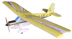 Lidmodelis Super Decathlon ARF (dzeltens)