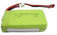 Battery for EP Heli, 800mAh 2S, JST, Chopper & Airlift