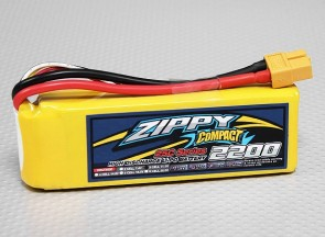 LiPo 2200 mAh, 3S, 25C