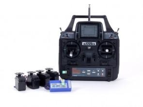 Radioaparatūra RD 6000 Sport, 40MHz, FM, 6 kanālu, TX, RX, 4 servo