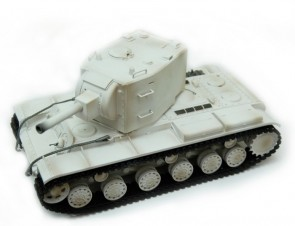 Tanks 1/24 SOVIET RED ARMY KV-2 Ziemas I/S