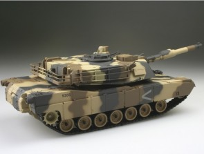 "Radiovadāms tanks ""M1A2 Abrams NTC 3"",1:24, IS"