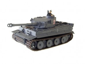 1/24 RC Tanks IS Vācu Tīģeris I Pelēks