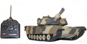 """Radiovadāms tanks """"M1A2 Abrams NTC 3"""", 1:24, pneimatiskais"""