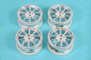 10 Spoke Metal Plated Wheel