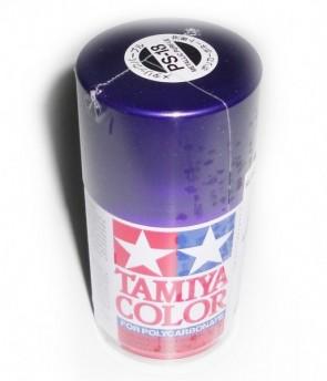 Krasa bundžā violeta metāla