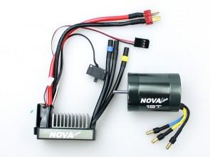 Ātrumregulātors un elektromotors Nova Line Stock ESC + 19T Combo