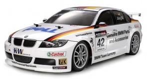 Auto modelis 1:10 treka BMW 320si, elektriskais, RTR, 4WD, TT-01