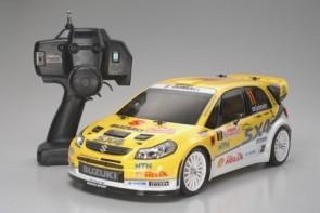 Auto modelis 1:10 treka Suzuki SX4 WRC, elektriskais, RTR, 4WD, TT-01E