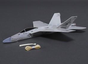 Brīvlidojošais modelis F-18 Hornet ar katapultu, 360mm