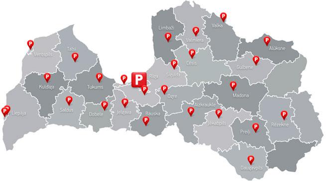 Pasta Stacijas Karte